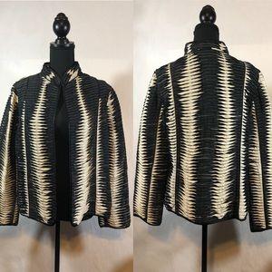 Chico's Crinkle Layered Blazer/Jacket